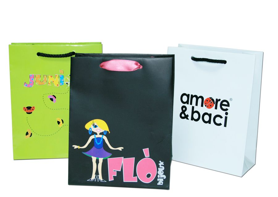 Bolsas de carton telata - off-set - ref. sh12
